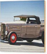 1932 Ford 'original Rod' Roadster Pickup Wood Print