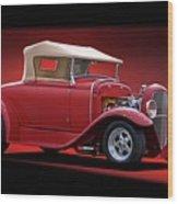 1932 Ford 'rag Top' Roadster Wood Print