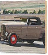 1932 Ford 'rare And Original' Roadster Pickup Wood Print