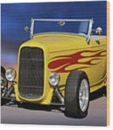 1932 Ford Roadster 'hiboy' Wood Print