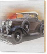 1932 Ford Roadster Wood Print