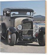 1932 Ford Tudor Sedan 'satin Doll' II Wood Print