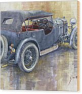 1932 Lagonda Low Chassis 2 Litre Supercharged  Wood Print