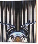 1932 Packard 12 Convertible Victoria Emblem Wood Print