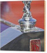 1932 Rolls-royce Hood Ornament 2 Wood Print