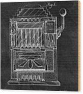 1932 Slots Patent Wood Print