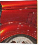 1933 Chevy Custom Roadster Wood Print