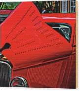 1933 Ford 3 Window Coupe Wood Print