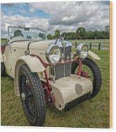 1933 Mg Sports Car Wood Print