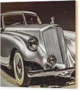 1933 Pierce-arrow Silver Arrow Wood Print