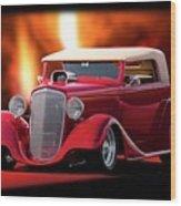 1934 Chevrolet Phaeton Convertible Wood Print
