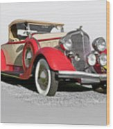 1934 Chrysler Roadster Wood Print