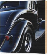 1934 Ford Coupe Rear Wood Print