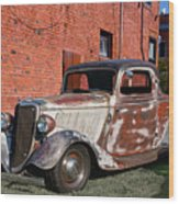 1934 Ford 'patina Plus' Coupe Wood Print