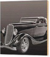 1934 Ford Roadster Wood Print