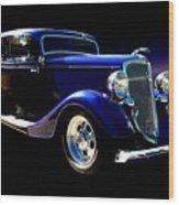 1934 Ford Tudor Sedan Wood Print