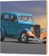 1934 Ford Victoria II Wood Print