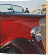 1934 Red Ford Wood Print
