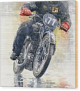 1934 Rudge Ulster Grand Prix Model  Wood Print