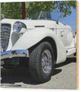 1935 Auburn 851 Boattail Speedster Wood Print by Al Bourassa