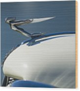 1935 Auburn Hood Ornament 3 Wood Print