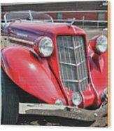 1935 Auburn Speedster 6870 Wood Print