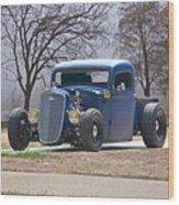 1935 Chevrolet 'hot Rod' Pickup Wood Print