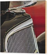 1935 Chevrolet Optional Eagle Hood Ornament Wood Print