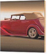 1935 Chevrolet Phaeton II  Wood Print