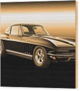 1965 Corvette Stingray Wood Print