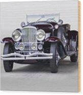 1935 Duesenberg Sj Roadster Wood Print