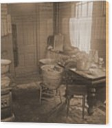 1935 Kitchen Wood Print