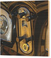 1935 Packard Console Wood Print