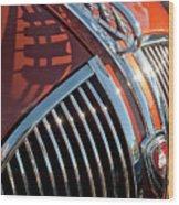 1935 Plymouth Hood Ornament Wood Print