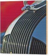 1935 Pontiac Sedan Hood Ornament Wood Print