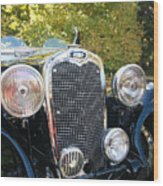 1935 Triumph Southern Cross Front Grill Wood Print