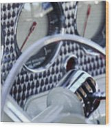 1936 Cord Phaeton Gear Shift Wood Print