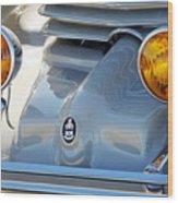 1936 Cord Phaeton Headlights Wood Print