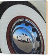 1936 Cord Phaeton Rim Wood Print