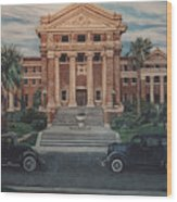 1936 Era Nueces County Courthouse Wood Print