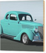 1936 Ford Coupe 1 Wood Print