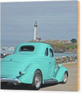 1936 Ford Coupe 'shoreline' 1 Wood Print