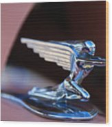 1936 Packard Hood Ornament Wood Print