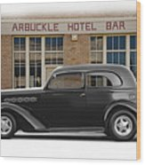 1936 Plymouth Business Coupe II Wood Print