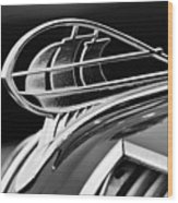 1936 Plymouth Sedan Hood Ornament 2 Wood Print