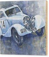 1937 Aero 750 Sport Coupe Wood Print