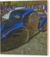 1937 Bugatti Type 57 S C Atalante Coupe Wood Print