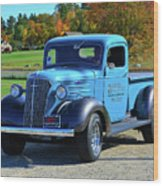 1937 Chevy Truck Wood Print