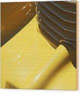 1937 Cord 812 Phaeton Hood Ornament Wood Print