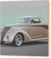 1937 Ford 'high End' Coupe I Wood Print